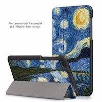 Cover Skin Case For Lenovo Tab4 Tab 4 7 Essential TB 7304 TB 7304F TB 7304I