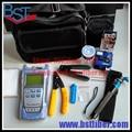 FTTH Terminal de Frío Montar Kit de Herramientas-9 unids, Caja De FTTH, Kevlar Scissors, Separador De Fibra, la Fibra Cleaver, medidor de Potencia