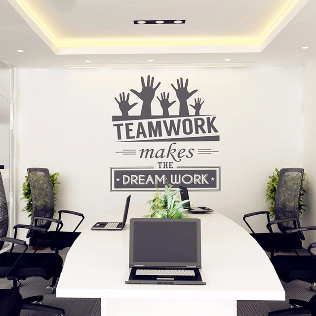 asapfor office wall stickers vinyl decal art office mural decor