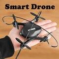 2017 Mais Novo! mini 4ch 6-axis zangão inteligente em tempo real de vídeo fpv quadcopte rc toys dron com hd wi-fi câmera profissão rc helicóptero