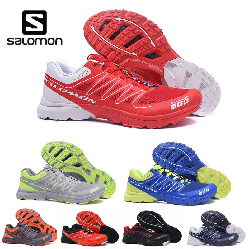 e8d7df5d842f Salomon S- LAB men shoes zapatos hombre Outdoor Mens Running Sneakers  Jogging Fencing Shoes Fame