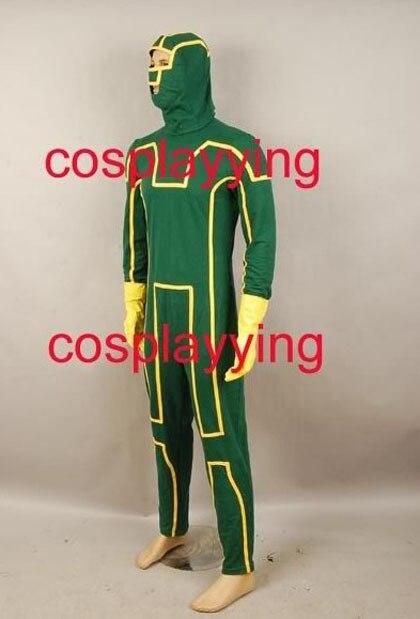 New Arrival Kick Ass Dave Lizewski Cosplay Costume Mask Gloves