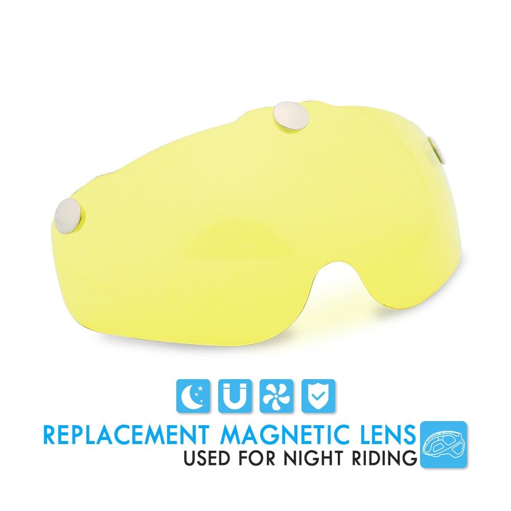 Bicycle Helmet, For Night Cycling, Lens Magnetic, Helmets Shield  MTB 5