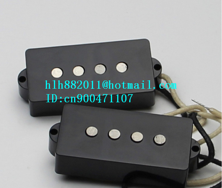 new 4 strings electric bass guitar open pickup in black HY-8314 цены