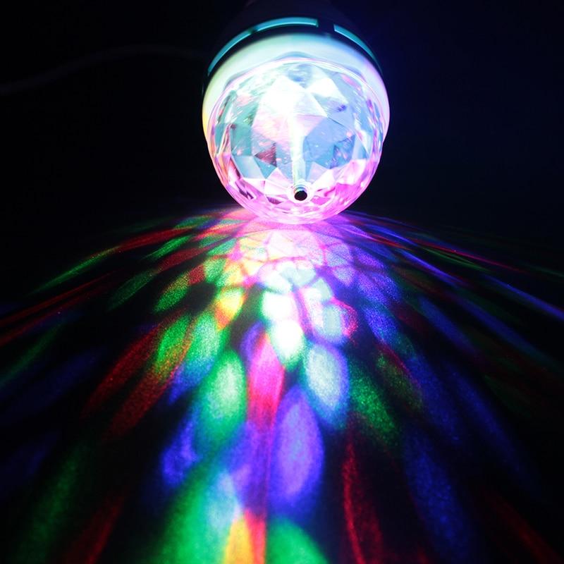 Lâmpadas Led e Tubos 1 pcs full color 3 E27 Rgb Led Voltage : 85 - 265 v