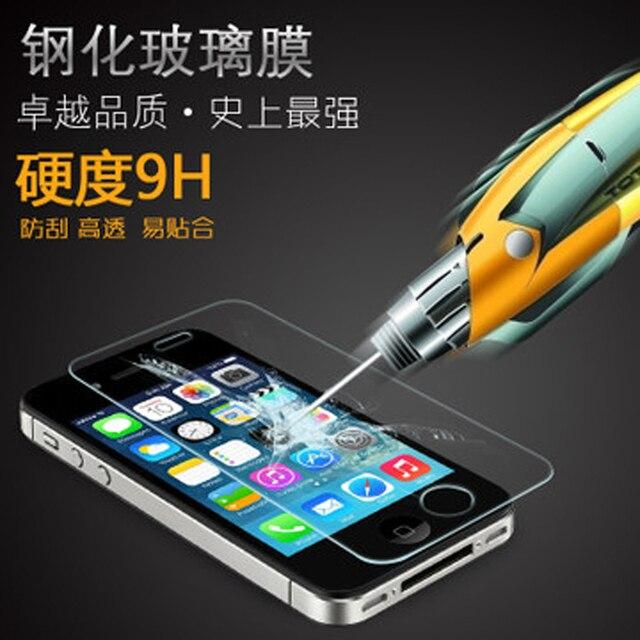 Lcd de alta qualidade Premium de vidro temperado filme protetor de tela protetor para Apple iPhone 5 5S 5c, Frete grátis com pacote