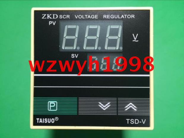 Genuine Teso ZKD SCR temperature control table TAISUO TSDV intelligent SCR voltage regulator genuine skg aluminum smart table trex ch412a aluminum temperature control device trexch412a