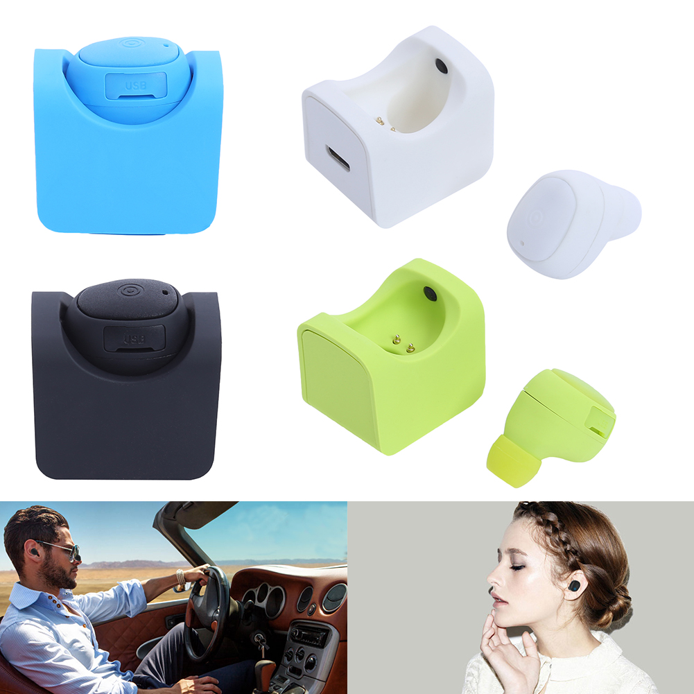 Mini Earphone Headset Wireless Bluetooth V4.1 Stereo Supports Multipoint Connection for iPhone iPod for Xiaomi Smartphone remax 2 in1 mini bluetooth 4 0 headphones usb car charger dock wireless car headset bluetooth earphone for iphone 7 6s android