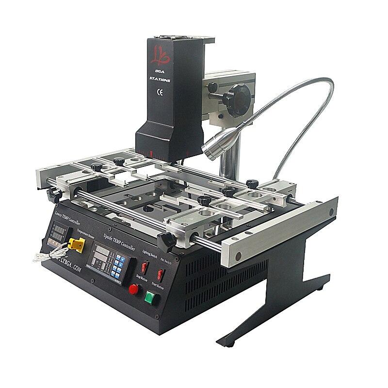 LY IR6500 V.2 Infravermelho estação de retrabalho BGA máquina de solda com reballing stencils Pinças escova caneta