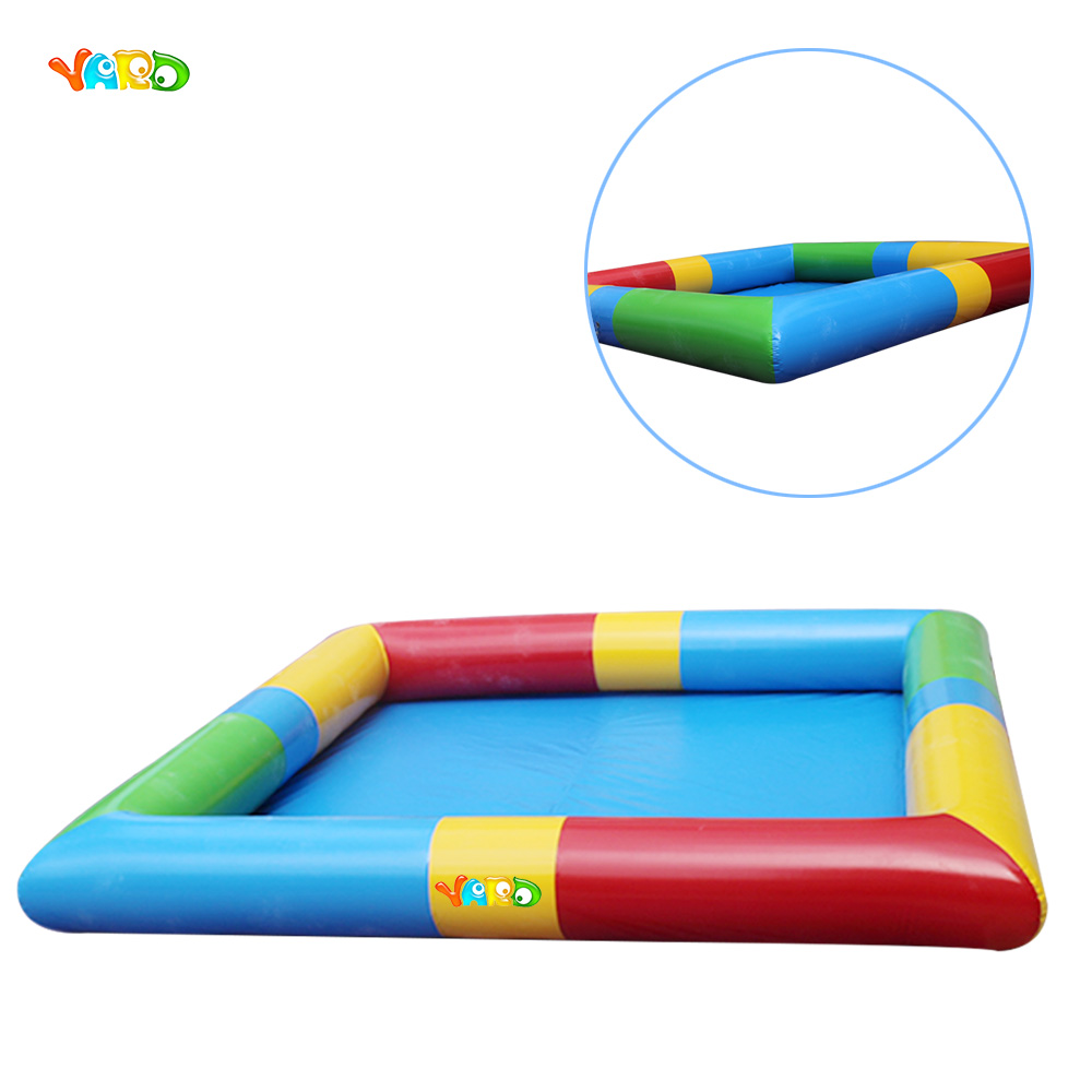 PVC Inflatable Square Swimming Pool for Children thickened swimming pool folding eco friendly pvc transparent infant swimming pool children s playing game pool