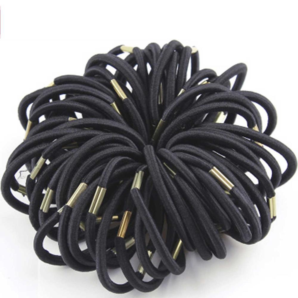 10PCS Women Girl Small Elastic Rubber Hair Band Rope Tie Hair Ponytail Holder XT