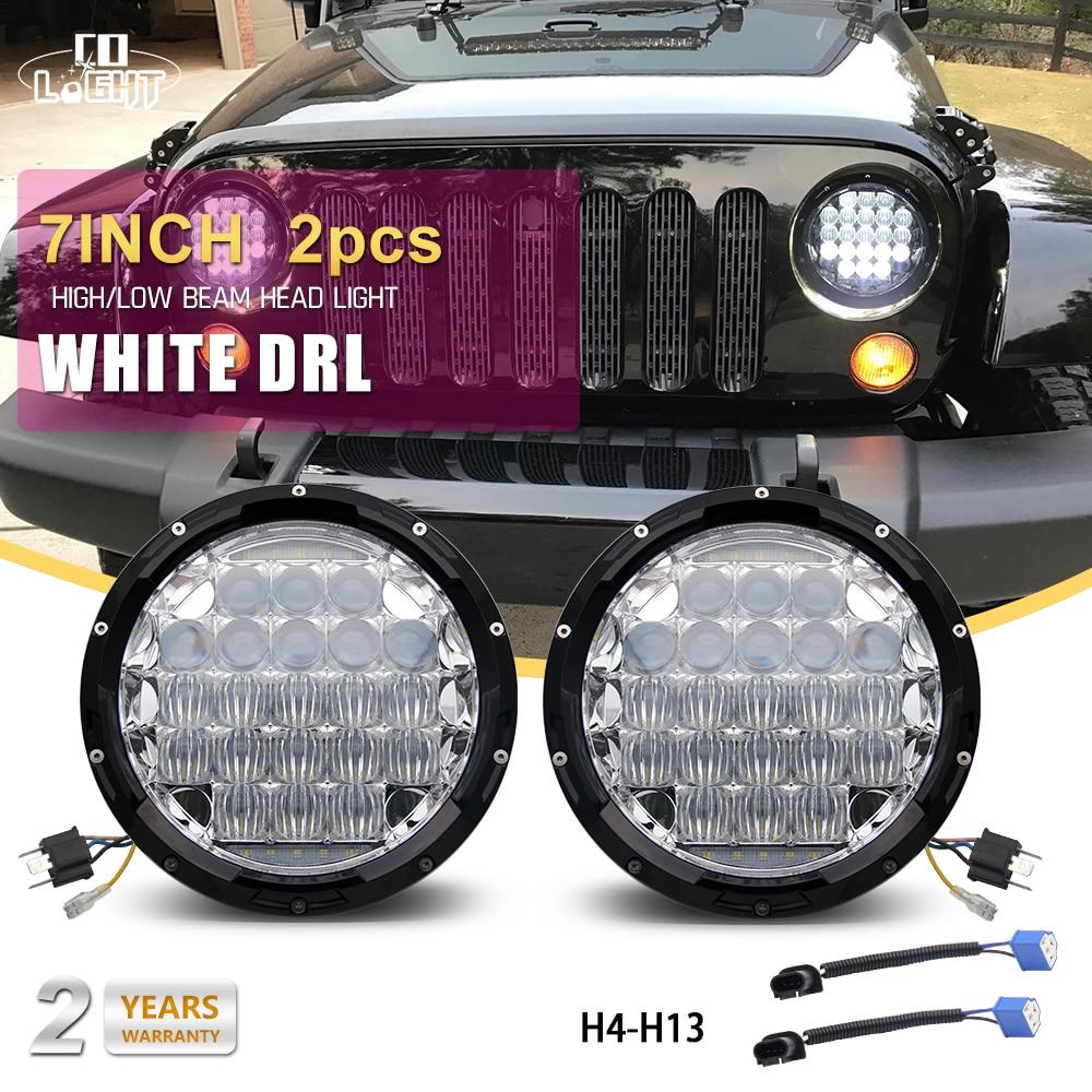 Со светом фары Сид 70w высокое 35ВТ H4 низкий DRL объектив 5D для Тойота Хаммер Ниссан джип Вранглер Тойота Лада Нива фар