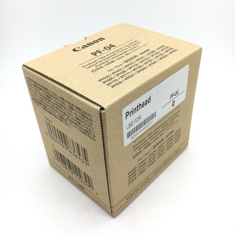 100% 오리지널 PF-04 pf04 pf 04 프린트 헤드 프린트 헤드 canon ipf650 용 ipf655 ipf680 ipf685 ipf750 ipf780 잉크젯 프린터 부품
