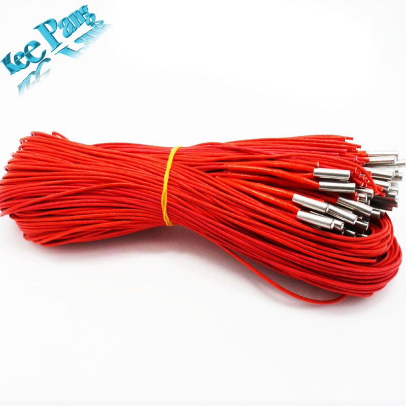 5pcs/lot 12V40W Ceramic Cartridge Heater 12V 40W 1 Meter Line 3D Printers Parts Aluminium Part