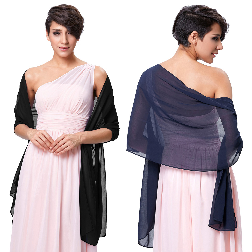 Women Sexy Shawl Chiffon Wrap Stole Shawl For Weddings Bridal Bridesmaid Evening Wear Cool Summer Women Scarf in Women 39 s Scarves from Apparel Accessories