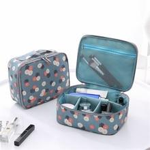 YIYONGFINE Fashion Print Makeup Travel Bag Portable Wash Storage Cubes Organizer