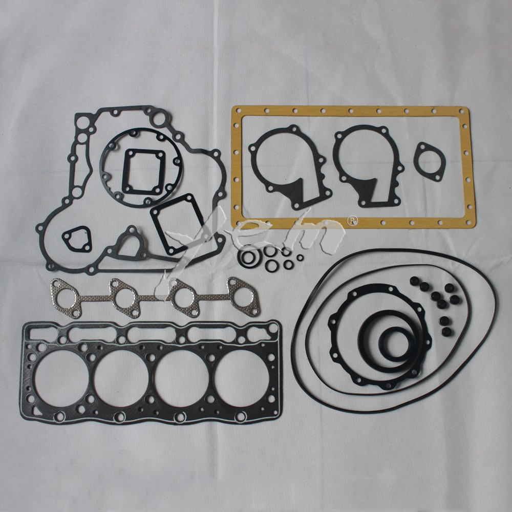 small resolution of for kubota engine parts v1505 full gasket set with cylinder head gasket 16394 03310 on aliexpress com alibaba group