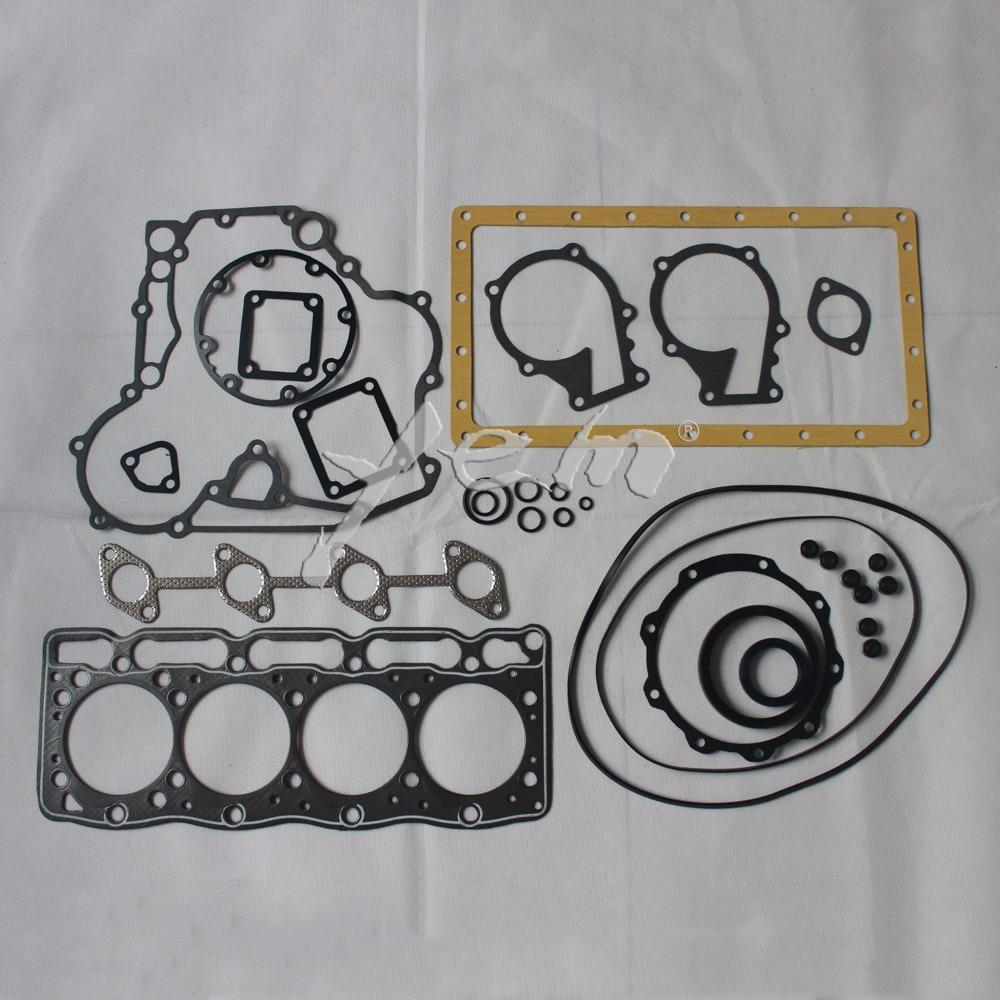 medium resolution of for kubota engine parts v1505 full gasket set with cylinder head gasket 16394 03310 on aliexpress com alibaba group