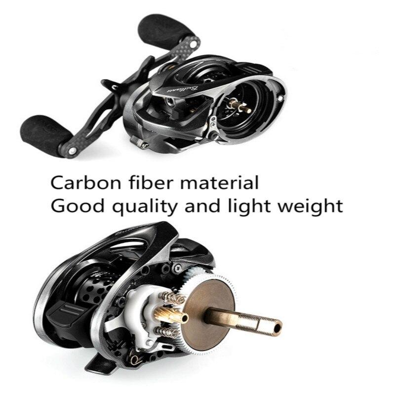 Nouvelle bande de poisson GH100 GH150 bobine Micro-matériau eau 7.2: 1 roue carbone Ultra-léger lancer dynamique magnétique ligne de frein bobine - 6