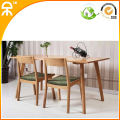 1.3 meter OAK dining table furniture 4 pcs dining chair W0204