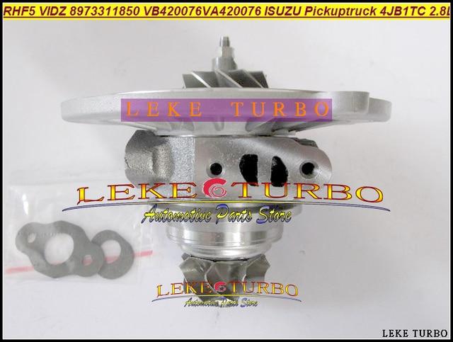 Cartouche Turbo CHRA Core RHF5 VIDZ 8973311850 VA420076 VB420076 1118010-802 pour camion de ramassage ISUZU 4JB1TC 4JB1-TC 4JB1T 2.8L