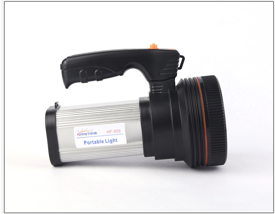 HTB1fID6azDuK1Rjy1zjq6zraFXag - Super Bright LED Portable Light(Built-in 9000mA li-ion Battery)+USB Chaging cable+ Shoulder Strap Black/Silver/Gold Color Option