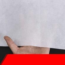 100*160 см Нежный белый черный нетканый материал фон ткань прокладки и подкладки швейная Лоскутная Ткань Подушка