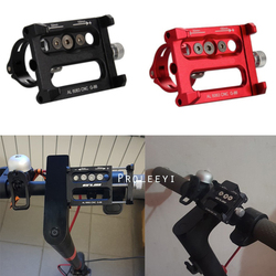Adjustable Anti-Slip Mobile Phone Stand Holder for Xiaomi M365 Electric MI Scooter For Qicycle EF1 Handlebar Mount Bracket Rack