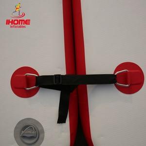 Image 4 - Dwf da Pesca Galleggiante Acqua Piattaforma Resistente Allusura Gonfiabile Air Deck Goccia Punto Dock + Pagaia + Mano  pompa per 1 3 Persone