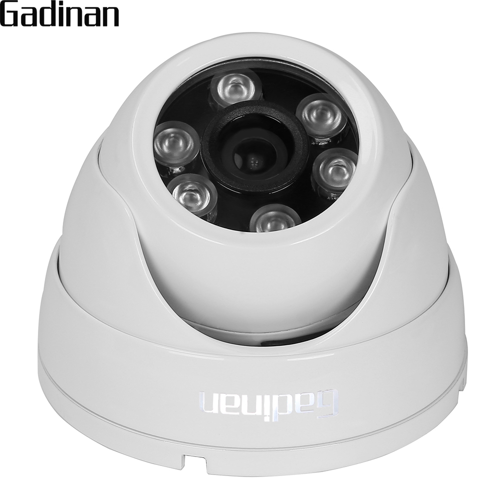 GADINAN ONVIF Metal Housing IP66 Wide Angle 2.8mm Lens H.264 720P 960P H.265 1080P 3516CV300 VandalProof Anti-vandal IP Camera