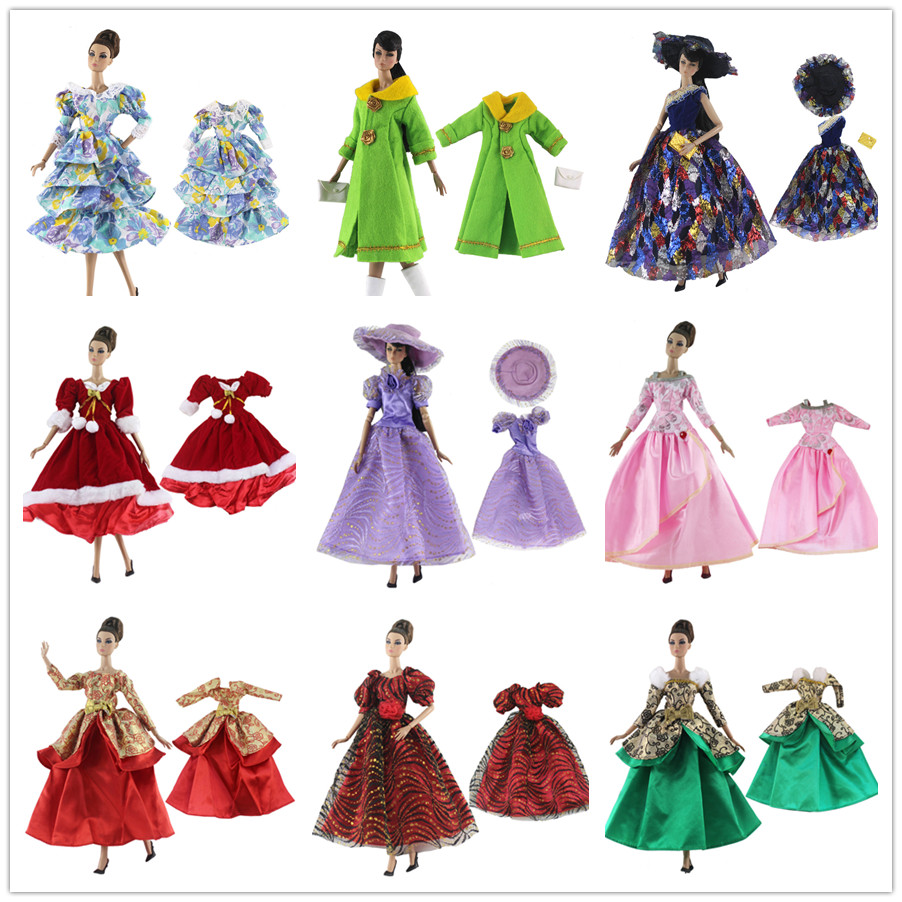 2019 New National Costume Doll Dress / Formal Dress Party Gown Outfit Clothing Wedding Dress For 1/6 BJD Xinyi FR ST Barbie Doll