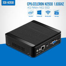 celeron N2930 N2940 J1900 DDR3 4G RAM,16G SSD,Desktop Computer,Game PC. without fan Motherboard,Mini PC ,Tablet,HDMI,VGA