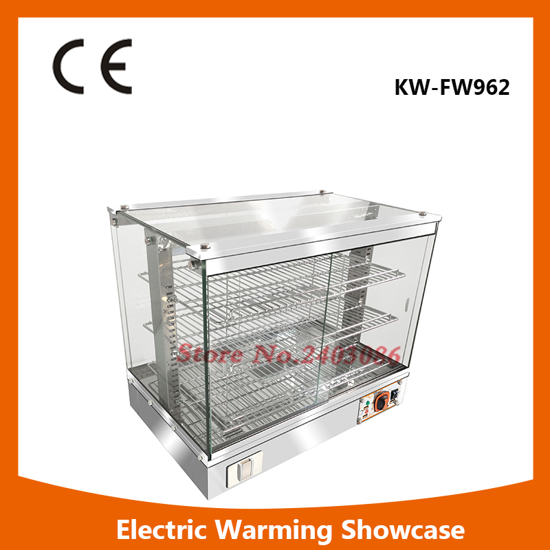 Glass Food Warmer Display Showcase For Sale 1.2kw Stainless Steel Electric Food Warmer,High Quality Food Warmer fast food leisure fast food equipment stainless steel gas fryer 3l spanish churro maker machine