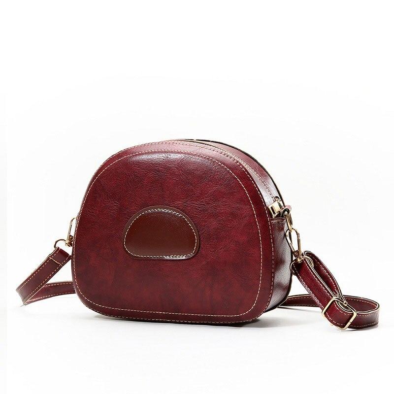 7ba622f89dad Arsmundi брендовая роскошная сумка для женщин 2019 новые мягкие кожаные  сумочки маленькие круглые женские сумки через