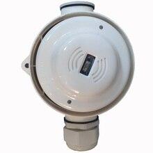 Сеть 4 провода УФ детектор пламени релейный выход водонепроницаемый ультрафиолетового пламени Сенсор панель управления стандартной пожарной сигнализации Управление Системы
