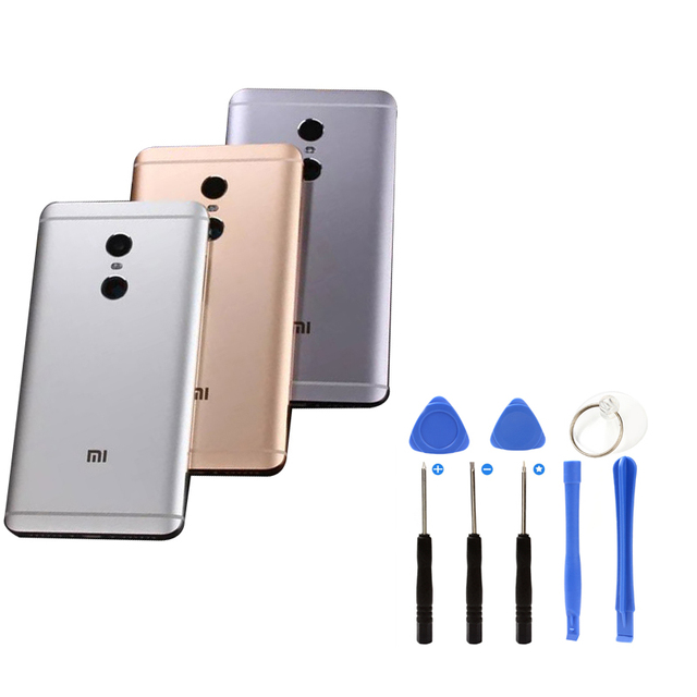 original Housing Replacement Parts Metal back Battery Cover for Xiaomi Redmi Note 4 phone case note4 Rear Case Replacement