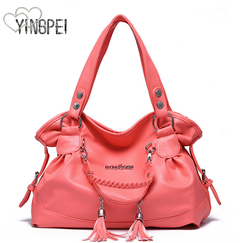 Frauen Tasche Designer Neue Mode Casual schulter tasche Luxus frauen handtaschen qualität PU Marke quaste Koreanischen Stil große kapazität
