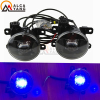 Malcayang For Land Rover Range Rover III SUV (LM) 2009 2012 Car LED Fog Light Devil Eye Brand New Look