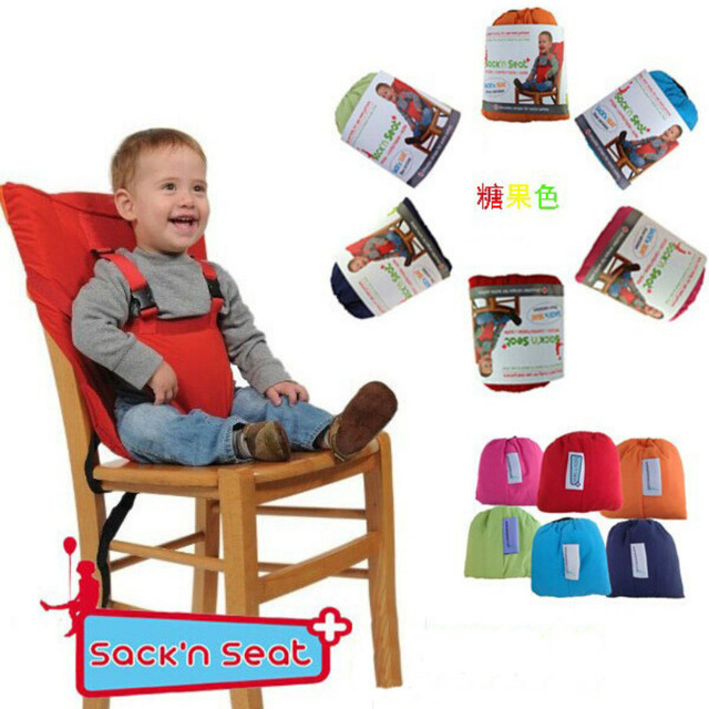 2018 Baby Chair Portable Infant Seat Portable Baby Kids Chair Child High  Chairs Seat Belts Safety
