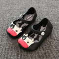 Girls sandals Cartoon Princess Flats children shoes girls rain boot baby summer jelly little cow children toddler kids shoes