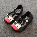 Girls sandals Cartoon Princess Flats children shoes girls rain boot baby summer jelly little cow children toddler kids shoes