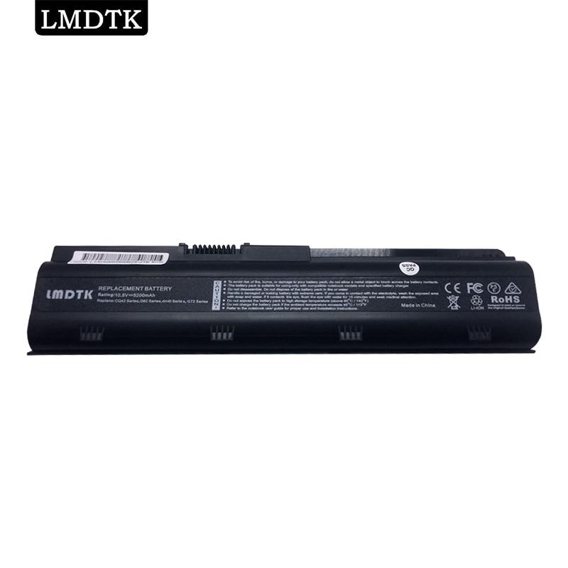 LMDTK باتری لپ تاپ 6 سلول جدید برای HP Presario CQ32 CQ42 CQ56 CQ62 CQ72 G32 G42 G62 G72 DM4 MU06 MU09 HSTNN-CBOX HSTNN-F01C