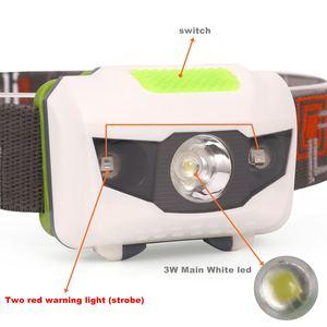 Image 3 - AloneFire HP30 4 Mod hafif Su Geçirmez Far CREE LED Kamp Kafa lambası Projektör Çalışan Kafa kafa lambası ışığı AAAbattey
