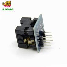 So8 8-módulo convertidor de toma SOP8 a DIP8 EZ, adaptador de corriente de salida con conector 150mil SOIC 8 SOP 8 a DIP 8