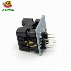 Soic8 sop8 para dip8 ez soquete conversor módulo programador saída adaptador de energia com conector 150mil soic 8 sop 8 para mergulhar 8