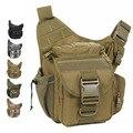 Cámara Mensajero bolsa de mujeres de los hombres del ejército alforja camuflaje Durable ocasional solo bolso de hombro