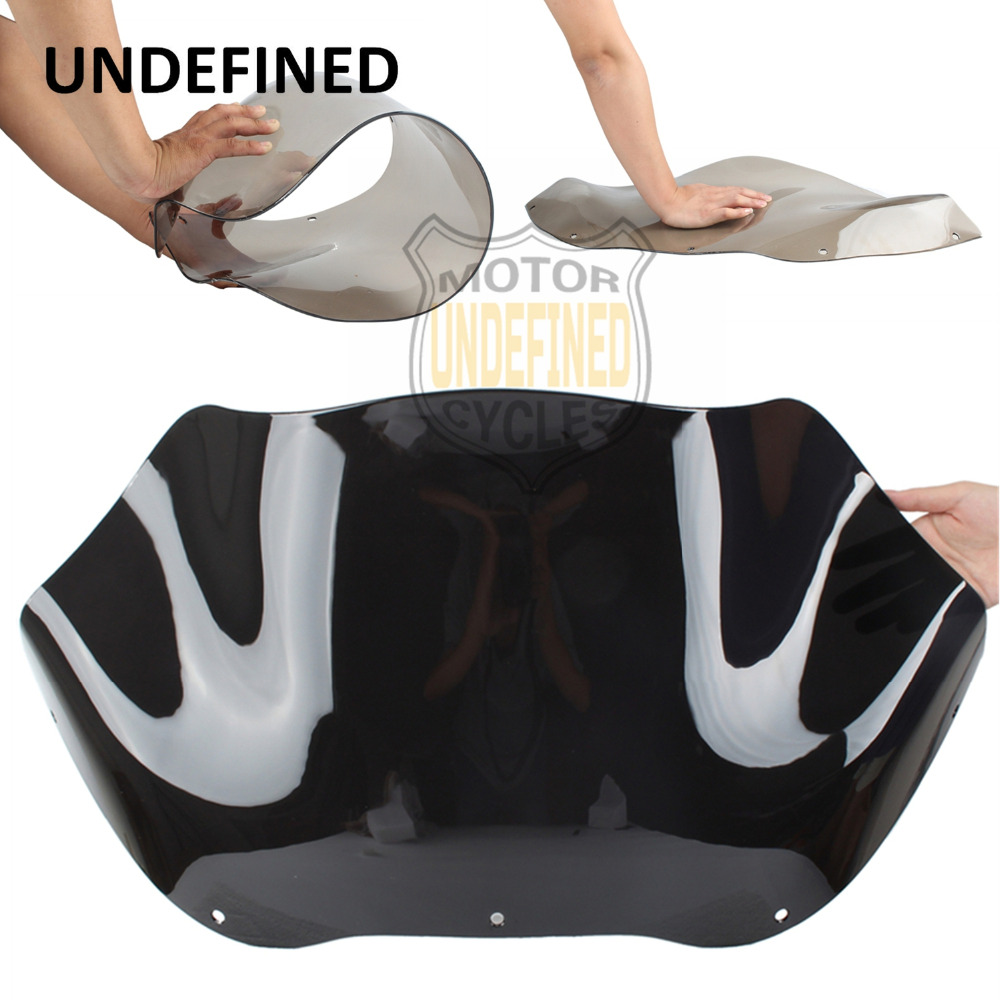 Motorcycle Accessories 13 Dark Smoke Windshield For Harley Road Glide FLTR 1998-2010 2011 2012 2013 Injection Molding UNDEFINED 9 windscreen windshield trim case for harley touring road glide fltr 1998 2013