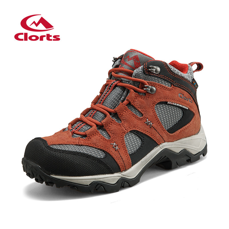 ФОТО 2017 Hiking Boots Sapatilhas Zapatillas Hombre Outdoor Shoes Mens First Layer Of High Spring Paragraph Anti Shock Wear Resis
