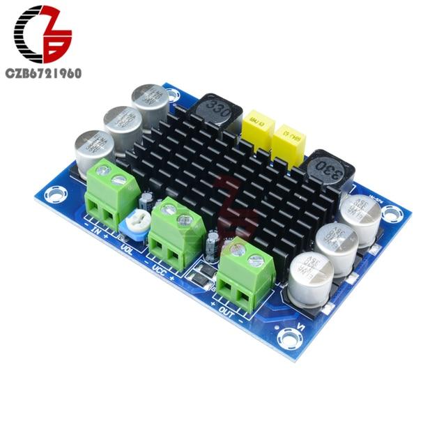 100W TPA3116 Power Amplifier Board DC 12V 24V TPA3116DA Mono Channel Digital Stereo Audio Amplifier Board High Power AMP Module