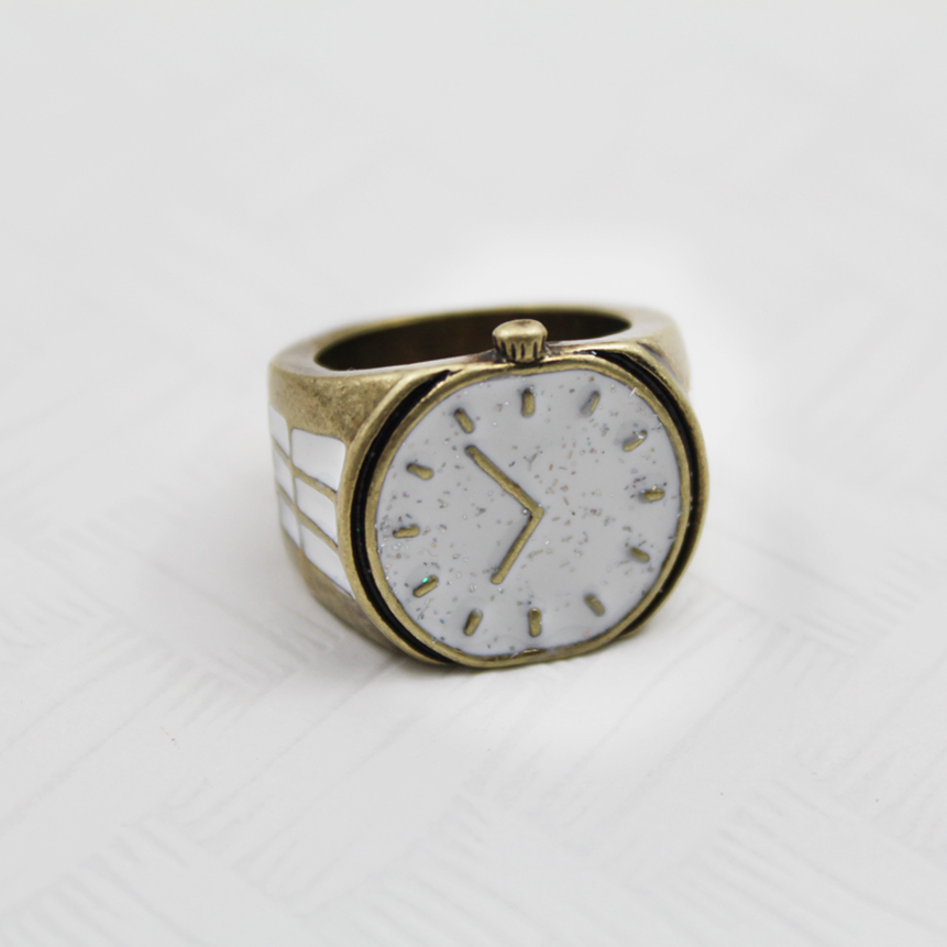 Fashion accessories vintage watch model caiyou 7 female finger index finger rings